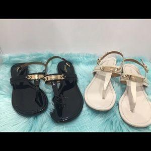 2 pair of Coach Sandals